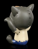 Furry Bones Figurine - Wolfie