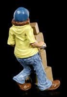 Funny Jobs Figurine - Laughing Delivery Service