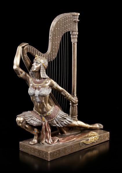 Egyptian Dancer Figurine with Harp