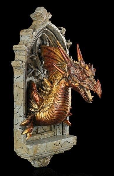 Alchemy The Vault - Drachen Wandrelief