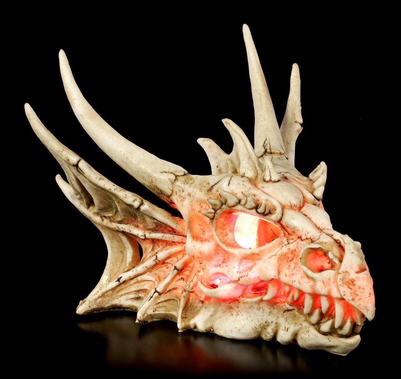 The Last Dragon Skull - LED
