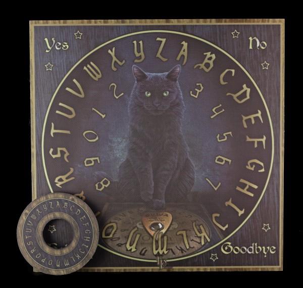 Wahrsagerbrett mit Katze - His Master's Voice