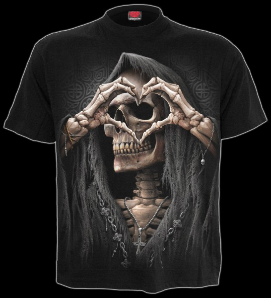 Spiral Reaper T-Shirt - Dark Love