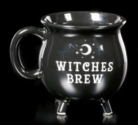 Black Cauldron Mug - Witches Brew