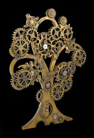 Steampunk Wandrelief - Tree of Life