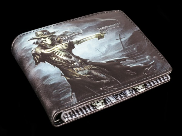 Men's Wallet Skeleton Cowboy - Gunslinger