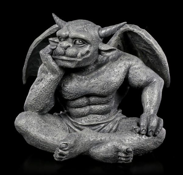 Gargoyle Figur - Warten auf die Unendlichkeit