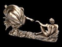 The Creation of Adam Figurine