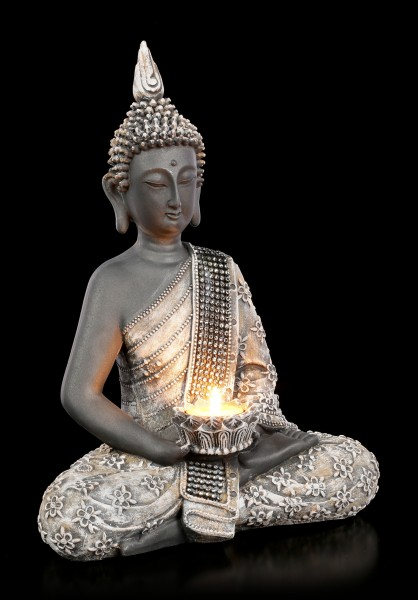 Buddha Tealight Holder - Light of Knowledge