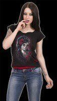 2in1 Damen Shirt Gothic - Day Of The Dead