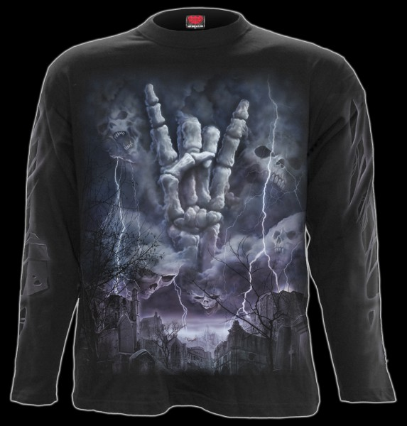Langarmshirt Heavy Metal - Rock Eternal