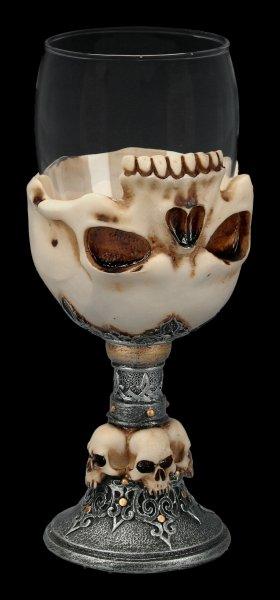 Skull Glass Goblet - Underworld