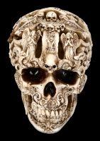 Skull Figurine - Gothic Design