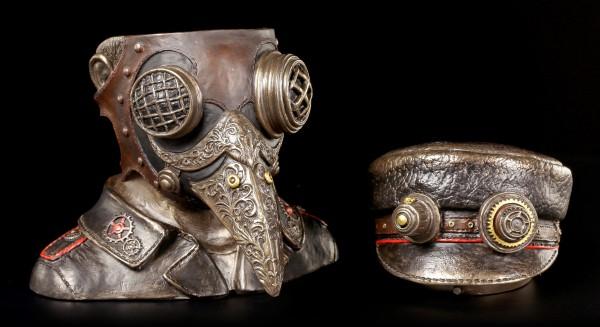 Steampunk Figur - Steam Doctor Schatulle