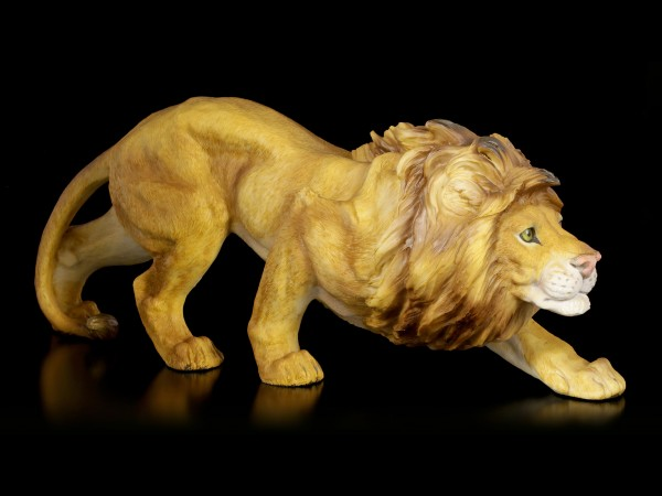 Lion Figurine - Creeping