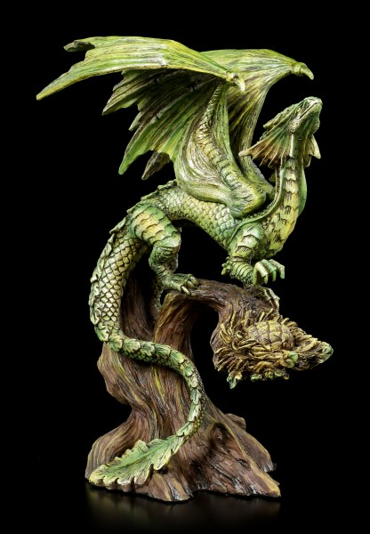 Adult Forest Dragon Figurine