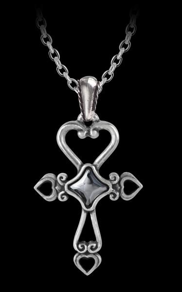 Alchemy Gothic Cross Necklace - Amourankh