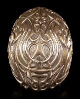 Tribal Skull - bronze