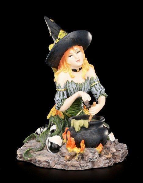 Hexen Figur - Harlequin mit Kräutern und Gewürzen