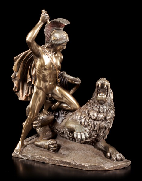 Bellerophon Figurine - Fighting The Chimera