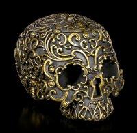Black Skull - Golden Lock