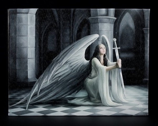 Small Canvas - The Blessing by Anne Stokes