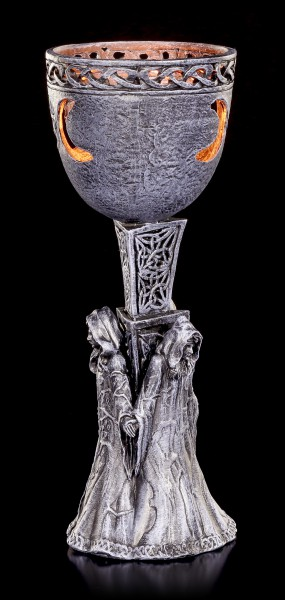 Tealight Holder Goblet - Cycle of Life
