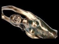 Female Yoga Figurine - Parivrtta Janu Sirsasana Position