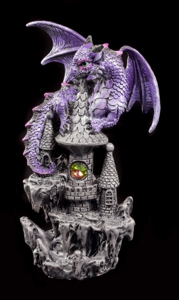 Drachen Figuren - Beschützer der Festung - 3er Set