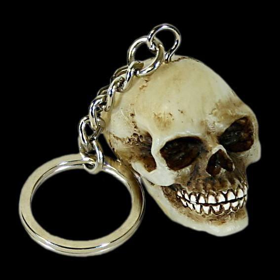kleiner Totenkopf Schlüsselanhänger - einzeln