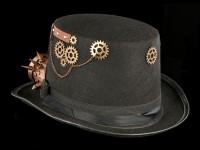 Steampunk Zylinder mit Brille - Strange Wanderer