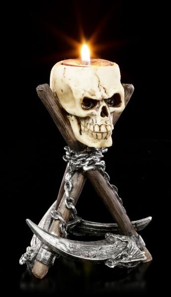 Skull Tealight Holder - Reapers Rest