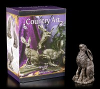 Hare Figurine - Moonlight by Andrew Bill