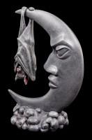 Fledermaus hängt am Mond - Batmoon