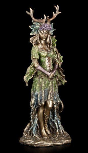 Wicca Göttin Figur - Lady Of The Forest