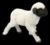 Gartenfigur - Lamm macht erste Schritte