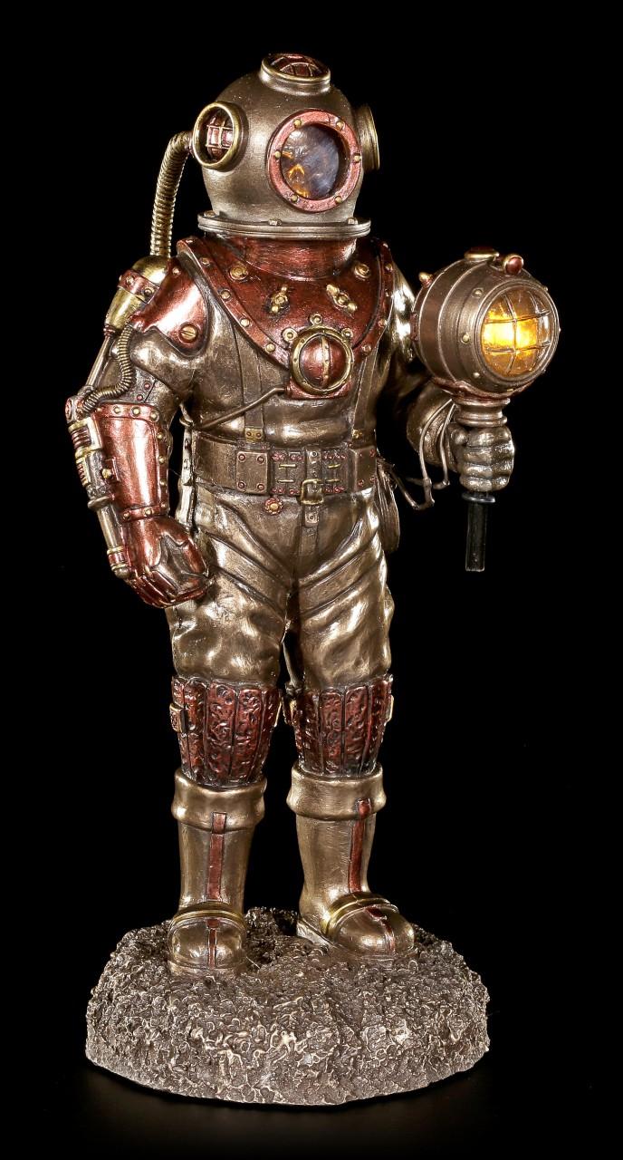 Steampunk Figur - Toter Taucher mit LED