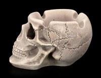 Ashtray - Human Skull - small
