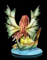 Fairy Figurine - Hiava in a Leaf Boat