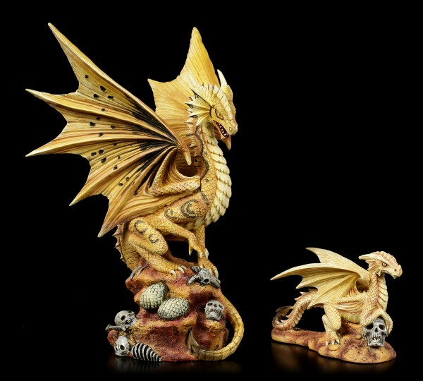 Adult Desert Dragon Figurine