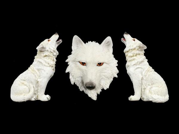 Fridge Magnets - White Wolves