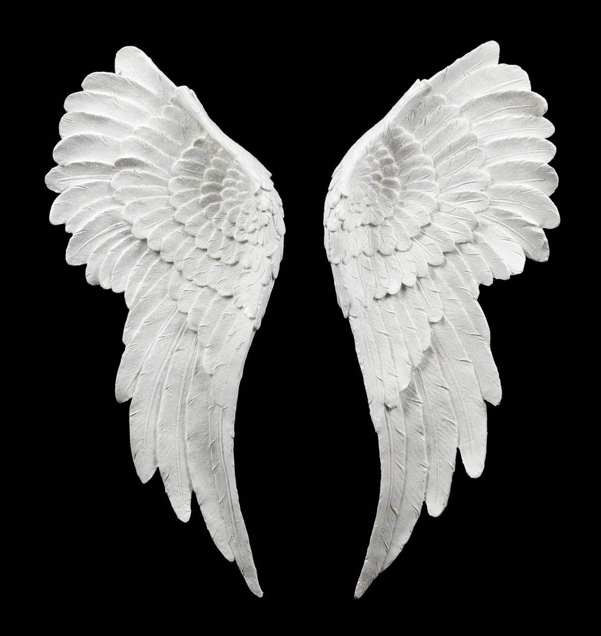 Wall Ornament - Angel Wings with Glitter
