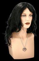 Alchemy Gothic Necklace - Bat Heart