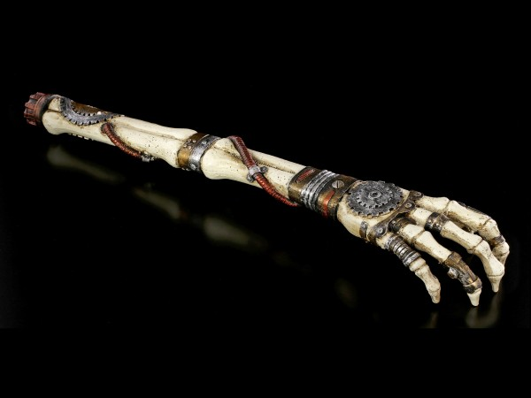 Back Scratcher - Steampunk Skeleton Arm