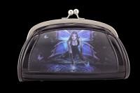 Lack Abend-Handtasche mit 3D Motiv - Immortal Flight