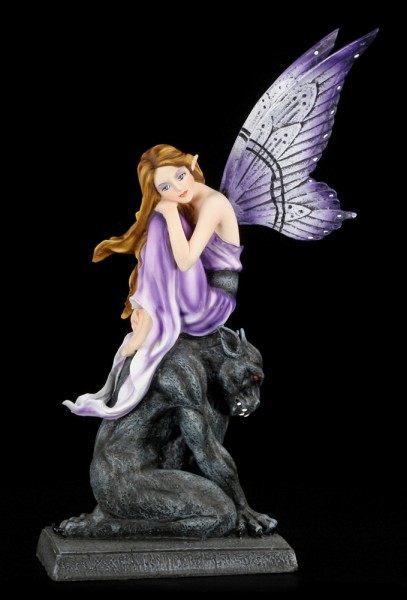 Elfen Figur - Georgiana auf Gargoyle