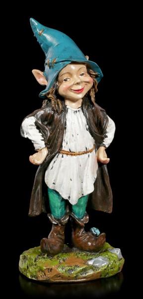 Gartenfigur - Pixie Elfe Zauberlehrling