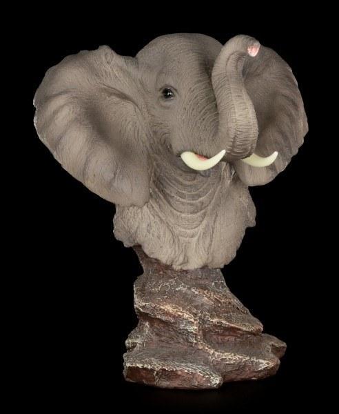 Elefanten Büste