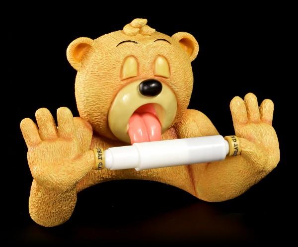 Toilettenpapierhalter - Bad Taste Bears - Andre X