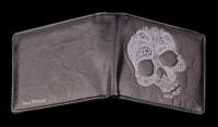 Herren Geldbörse Totenkopf - Sugar Skull